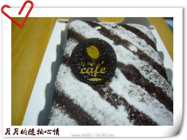 台南-奇美純巧克力蛋糕 @民宿女王芽月-美食.旅遊.全台趴趴走